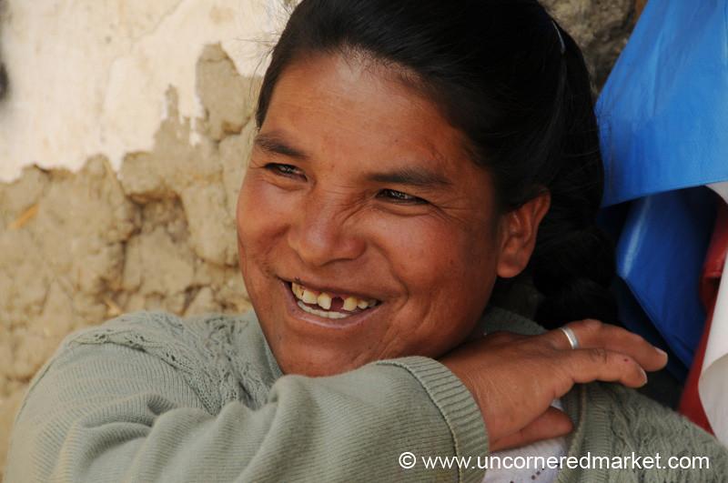 Afternoon Laugh - Yauli, Peru