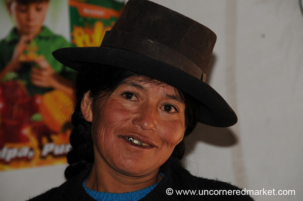 Meeting the Collective Bank in Chacarilla, Peru