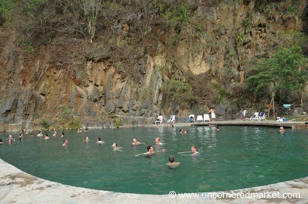Hot Springs at Santa Teresa - Day 3 of Salkantay Trek, Peru