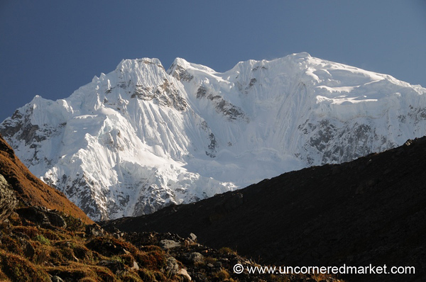 Fresh Snow on Salkantay - Peru