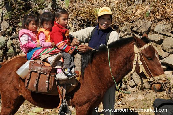 Young Riders - Mollepata, Peru