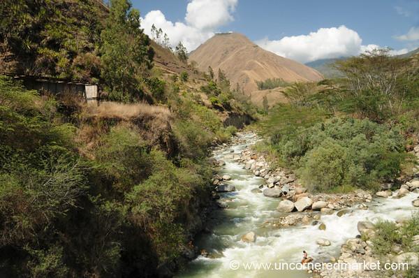 Along the Vilcanota River - Day 4 of Salkantay Trek, Peru