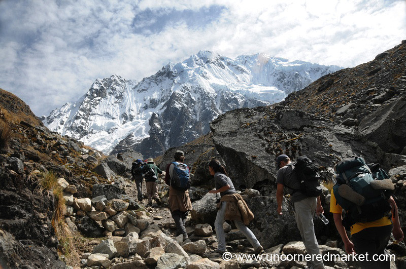 The Last Push to Salkantay - Day 2 of Salkantay Trek, Peru