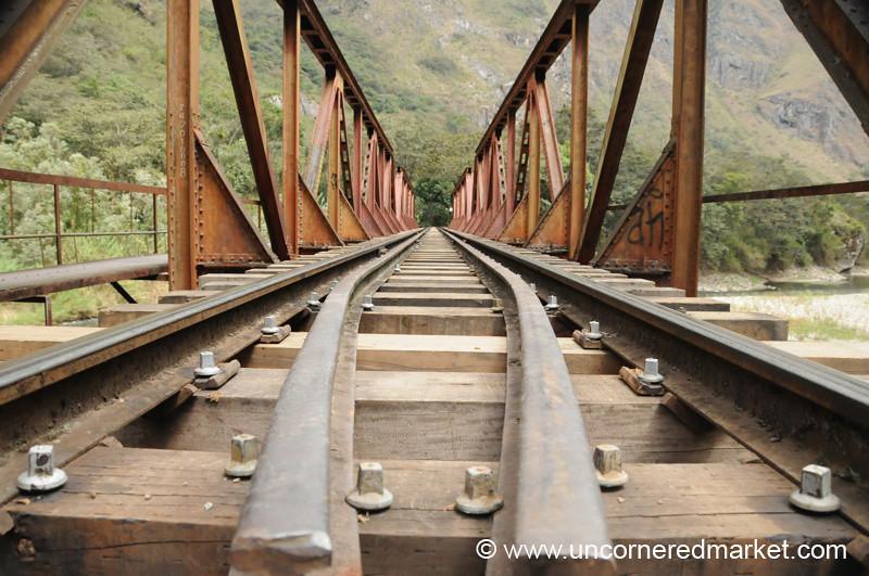 Railroad Bridge - Day 4 of Salkantay Trek, Peru