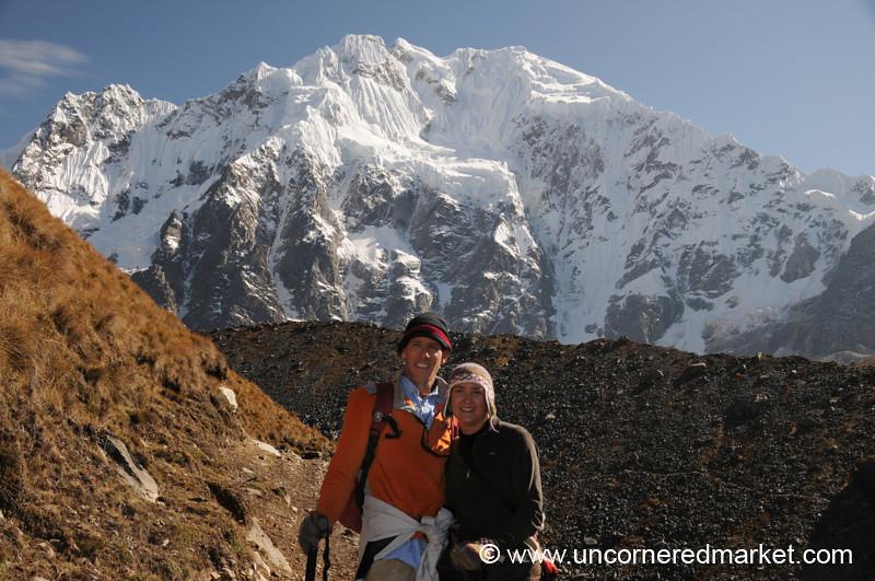 On Our Way Up - Salkantay Trek, Peru