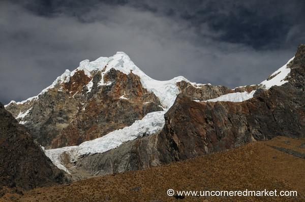 Snow-Capped Peaks - Day 2 of Salkantay Trek, Peru