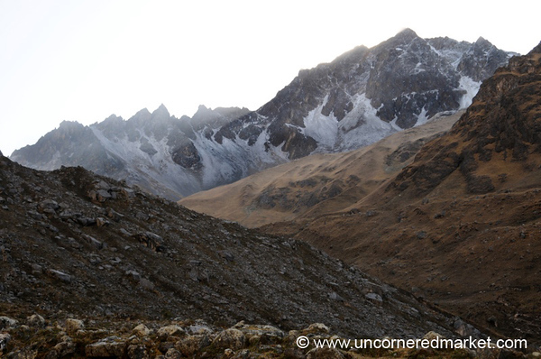 Mountain Landscapes - Day 2 of Salkantay Trek, Peru