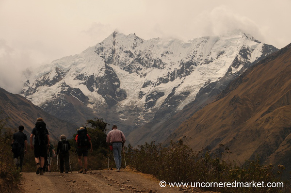 An Afternoon Walk - Day 1 of Salkantay Trek, Peru
