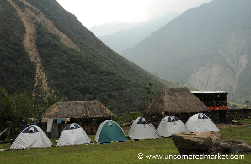 Second Campsite at Qollipapampa - Day 2 of Salkantay Trek, Peru
