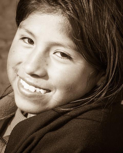 Cute kid met at Taquille Island.