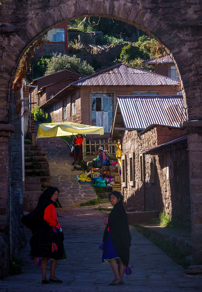 Colorful slice of life at Taquille Island.