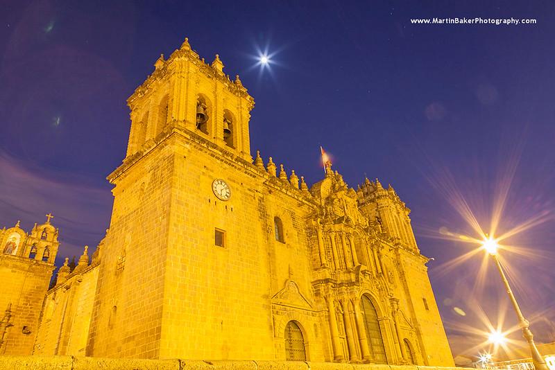 Cusco Cathedral, Cusco, Peru.