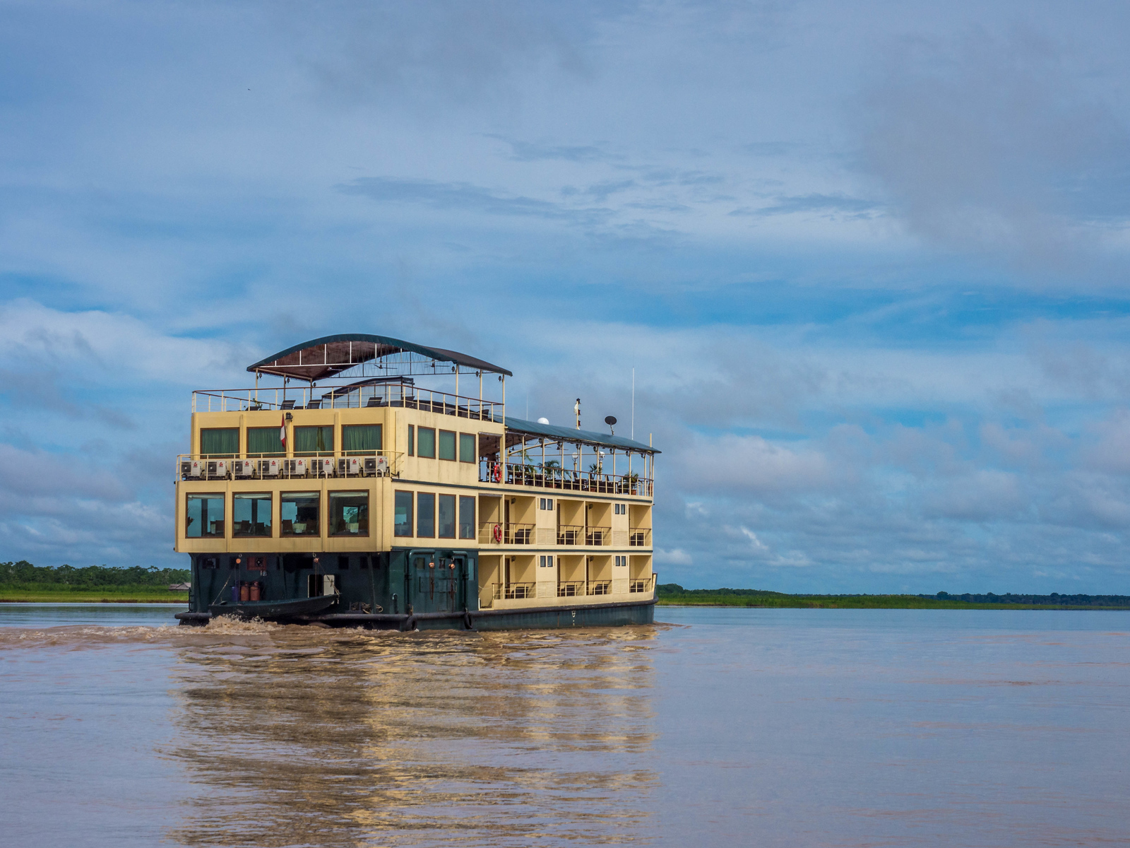 Our International Expeditions River Boat