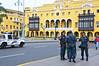 Police, Government Plaza, Lima, Peru