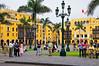 Lima, Peru,  Government Plaza