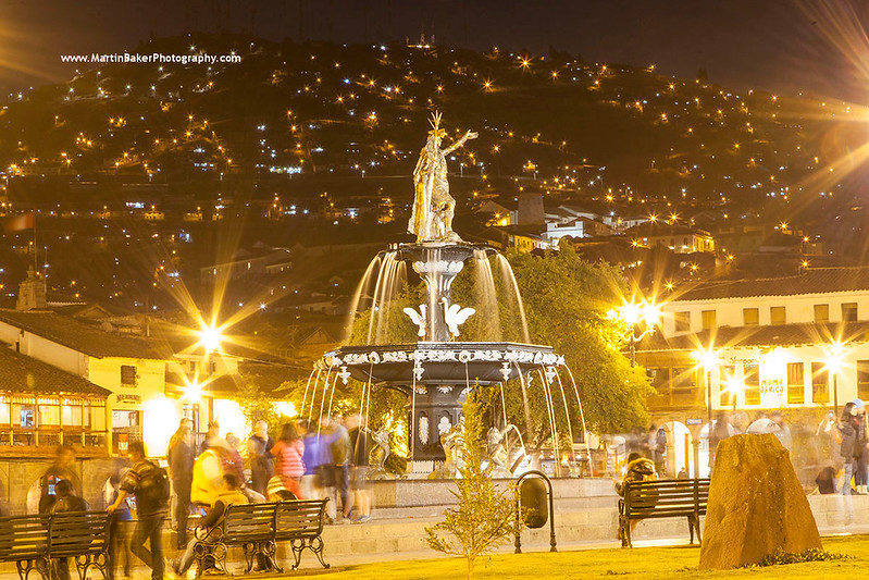 Plaza de Armas, Cusco, Peru.