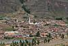 Pisac town in Sacred Valley, Peru