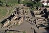Inca ruins at Ollantaytambo in Sacred Valley