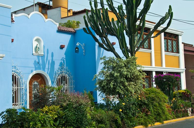 Colorful House, Lima, Peru