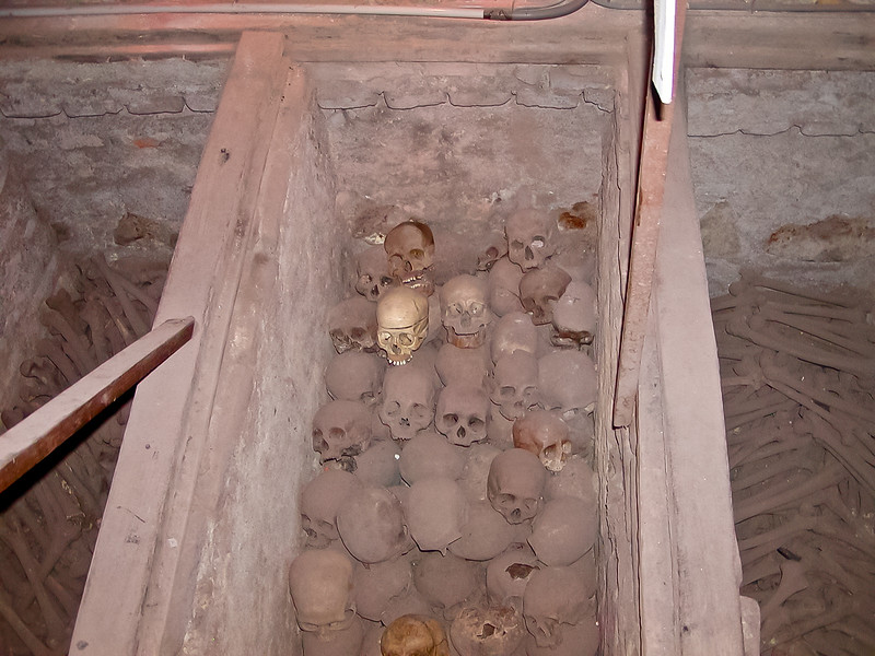 Catacombs under Cathedral In Lima