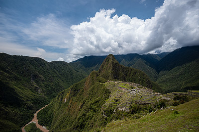 another view of Machu Micchu
