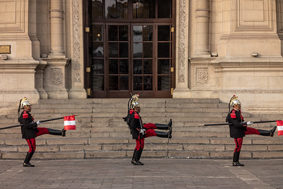 Changing of the Guard Government Palace