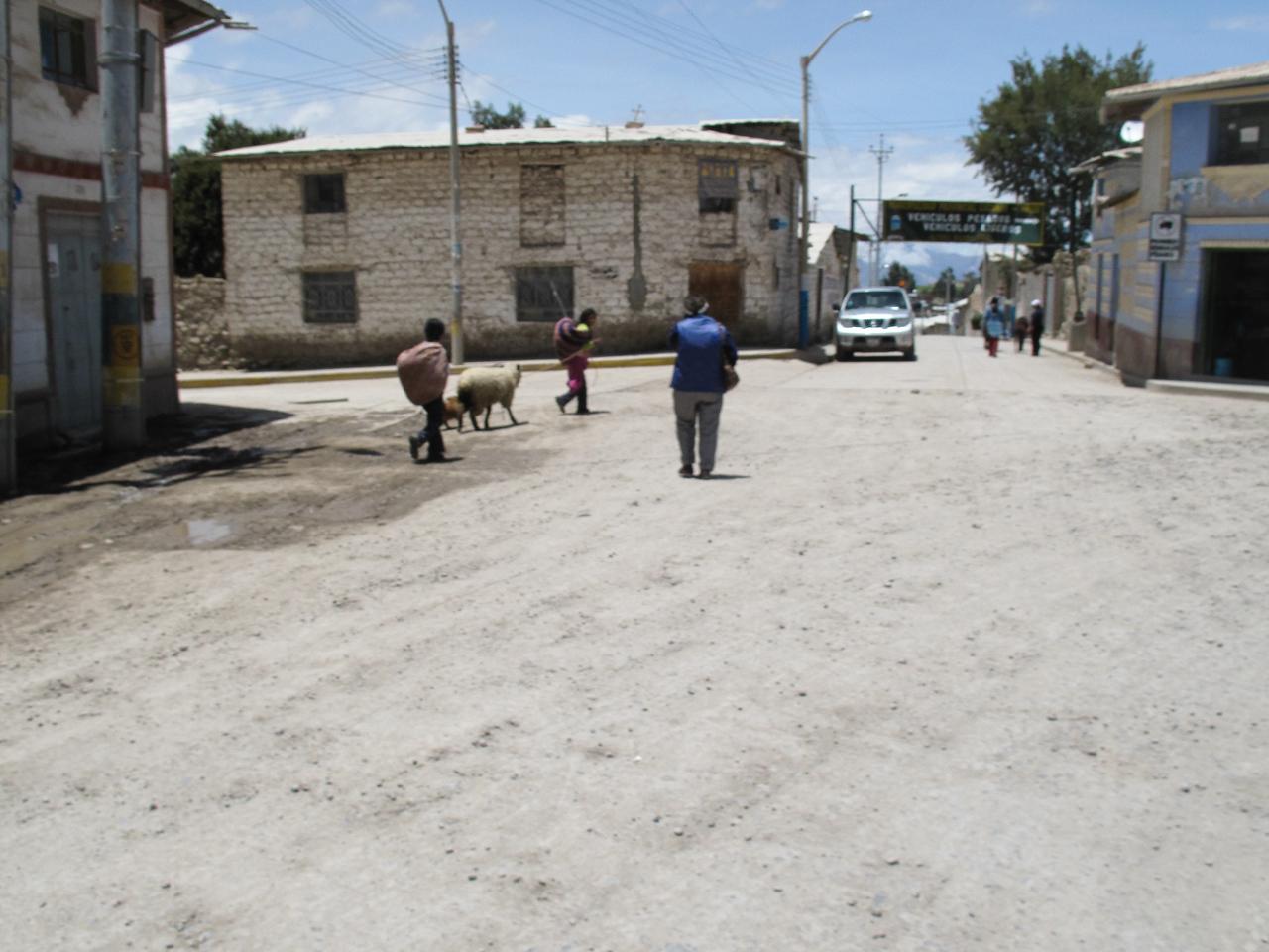 Street Scene - Peru