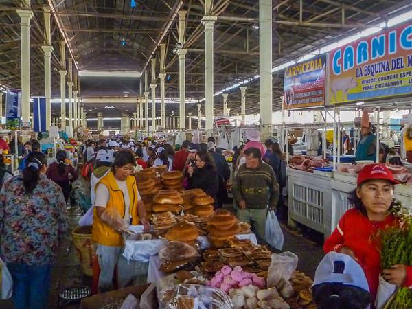Things to See, Do, & Eat at San Pedro Market Cusco, Peru