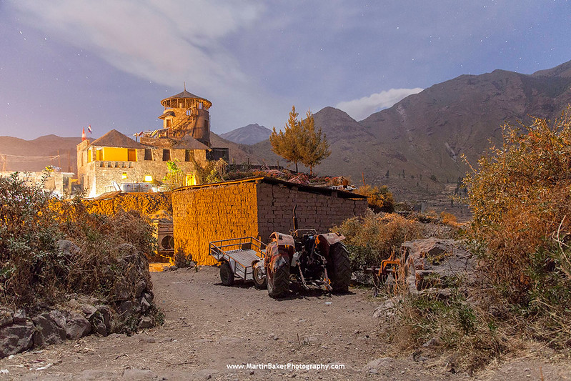 Cabanaconde, Colca Canyon, The Andes, Peru.