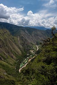 hydroelectric facility Urubamba River