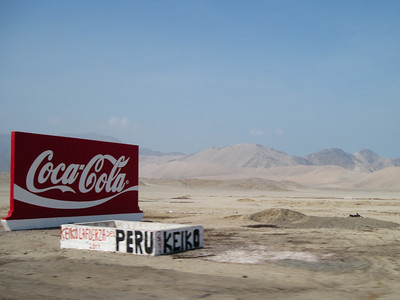 Coke in the Desert