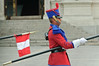 Guard at President's Palace, Lima, Peru