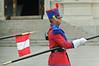 Guard at President's Palace, Lima, Peru