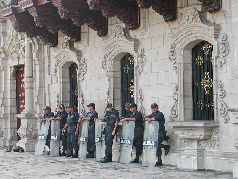 Policia, Lima, Peru