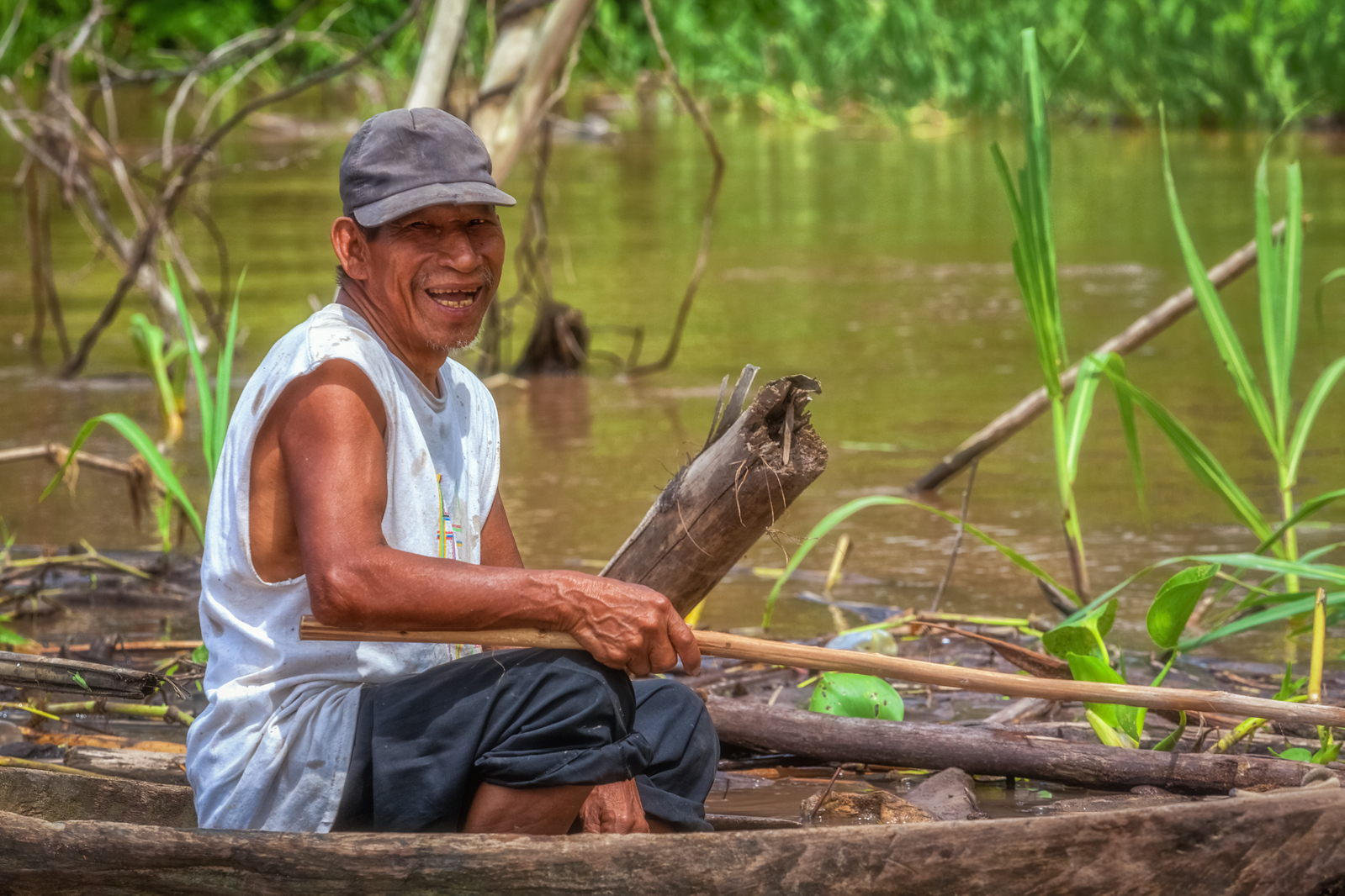 Making a living on the Amazon