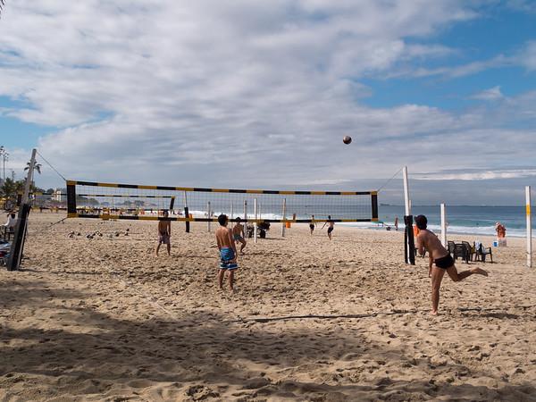 Beach volleyball, Ipanema, Rio