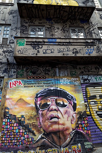 Mural art and graffiti, Rio style