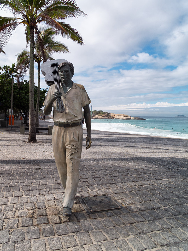 Bossanova legend Tom Jobim, who wrote the Girl from Ipanema