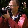 Pa 0010 Kees Jan in Botanische Tuin, Buenos Aires