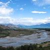 glacier fed streams.