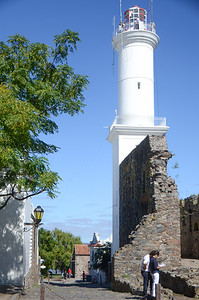 The historic lighthouse...