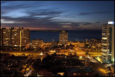 View from apartment, Punta del Este