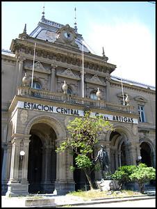 Disused railway station, Montevideo