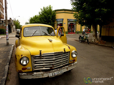 Classic Truck on the Streets of Carmelo, Uruguay