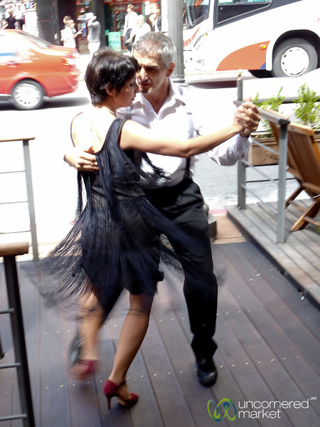 Tango on the Streets of Montevideo, Uruguay