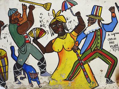 Carnaval Graffiti - Montevideo, Uruguay