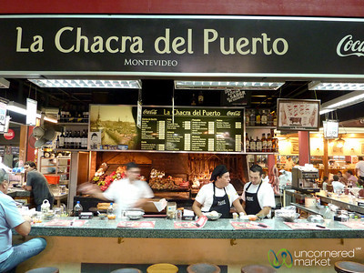 Lunchtime at Mercado del Puerto - Montevideo, Uruguay