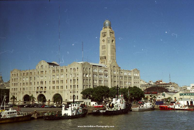 Ferry Port, Montevideo, Uruguay.