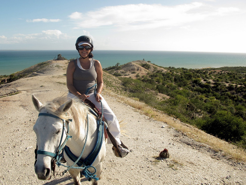 "Horseback riding in Macanao, Margarita Island, Venezuela For the story, check out: <a href=""http://www.nomadbiba.com/wp/2011/02/macanao-on-a-horse/"">Macanao on a horse</a>"