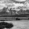 Cuernos del Paine Black and White